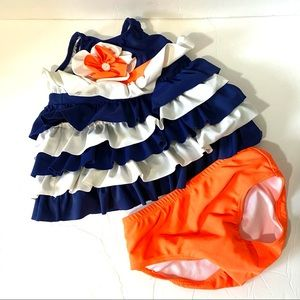 Isobella and Chloe Two Piece Swimsuit 12 months